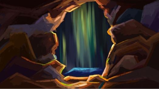 pngtree-hand-drawn-cartoon-creative-cave-background-illustration-image_259997
